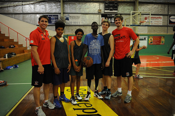3 on 3 Basketball with Lachy Reid
