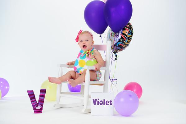 Violet's 1st birthday