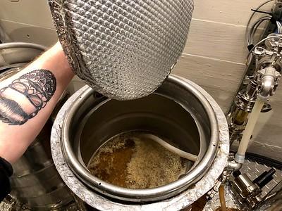 Cream Ale brew day 4/14/2018