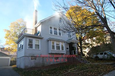 Belmont, MA - Working Fire, 11 Hurd Road, 11-12-16