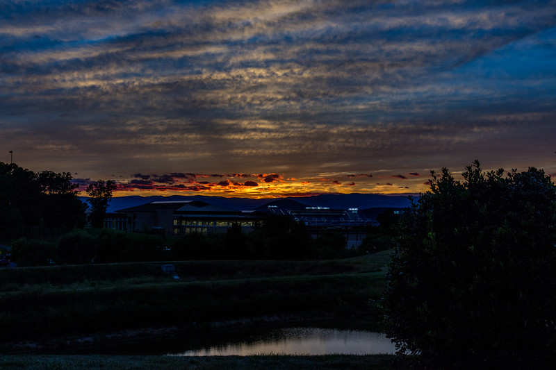 UREC at Sunset