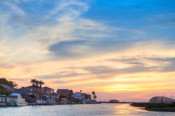 doc's blue sunset