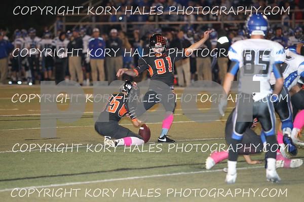 Varsity-Oak Grove vs Harrisonville 10-2-15 Camera 2 of 2