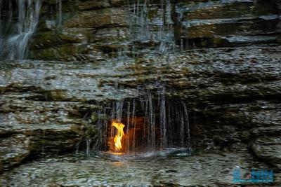 Waterfalls of WNY - Eternal Flame Falls Park