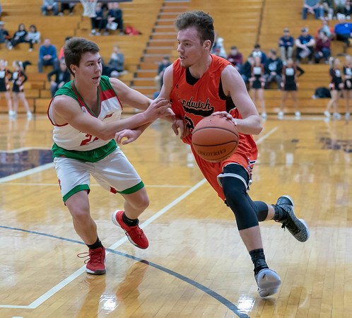 Sandwich Boys Basketball - Dec. 26, 2018