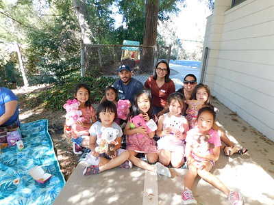 Palm Crest 1st-Graders Invite Teddy Bears to a Picnic