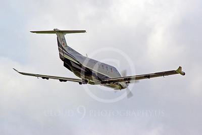 Pilatus PC-12 Light Civil Aviation Airplane Pictures