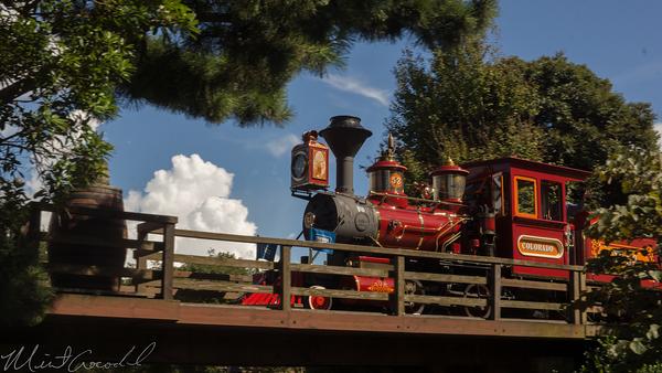Disneyland Resort, Tokyo Disneyland, Fantasyland, Westernland, Western River Railroad, Railroad, Train