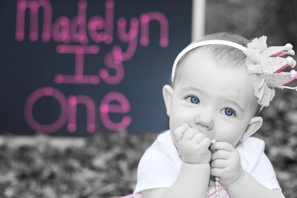 Madeline Z 1st Birthday
