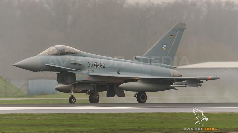 German Air Force TLG74 / Eurofighter Typhoon / 30+82