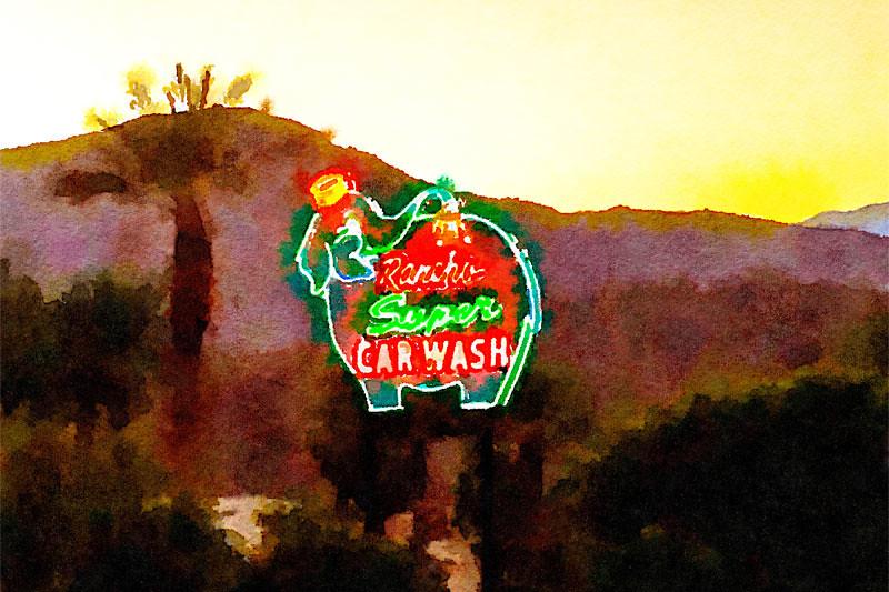 Rancho Super Car Wash, Rancho Mirage, CA