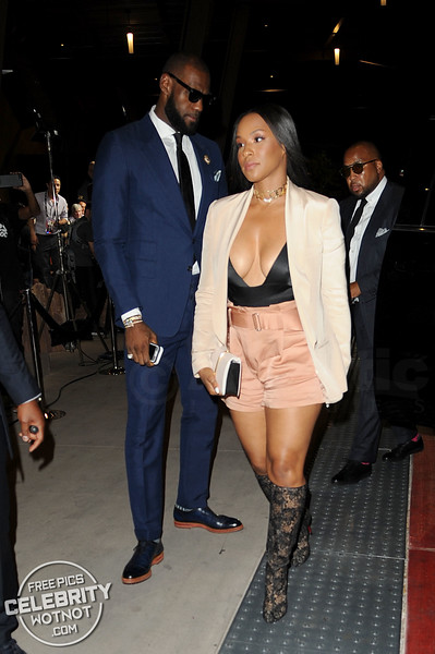 Savannah James Steals The Show With Husband LeBron James in Revealing Outfit