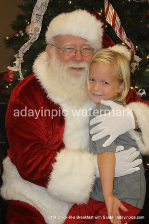 2014 Chick-fil-a Breakfast with Santa