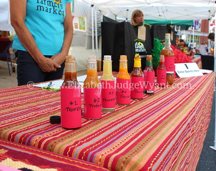 Easton Farmers Market 9/20/14 Chile Pepper
