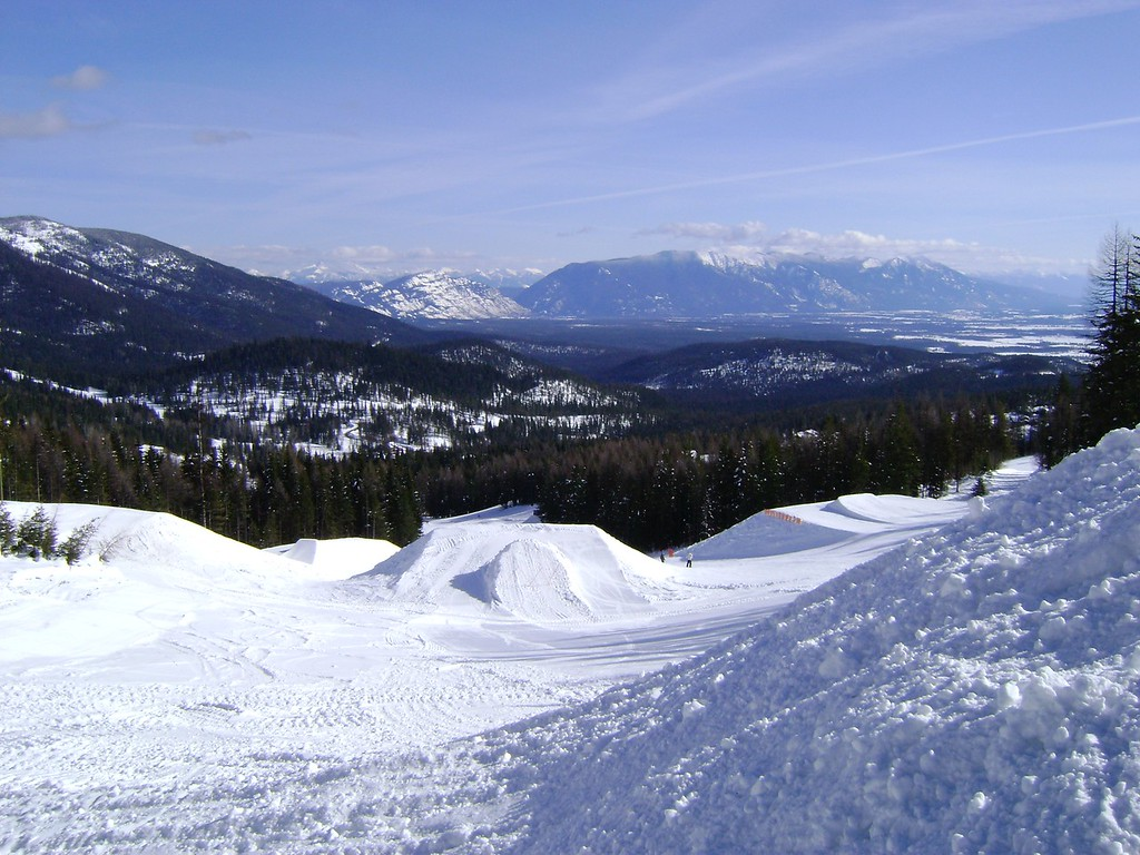 Places to visit for Valentine's Day: Whitefish Montana for Valentine's Day