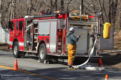Brush fire - Rt156 Old Lyme, Ct 3/12/2021