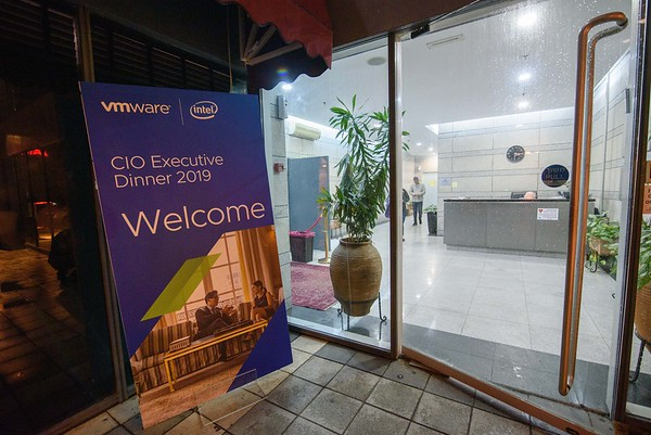 VMware CIO Dinner 8 DEC 19