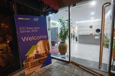 VMware CIO Dinner 81219