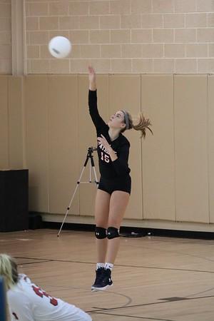 Varsity Girls Volleyball: GA at Notre Dame