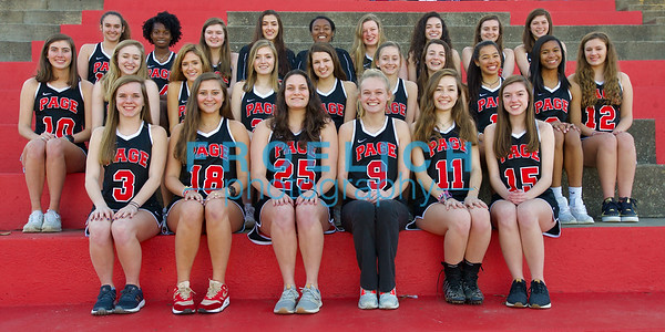 2019 Page Girl's Lacrosse Team/Seniors