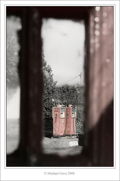 View through the phone box  Aust Village Bristol (60980362).jpg