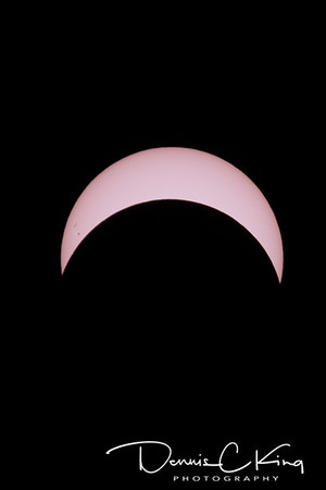 Eclipse 2017 - Dansville, NY