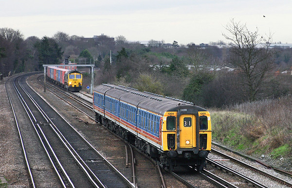 20th December 2004: Worting Junction