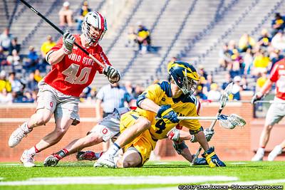 4-15-17 Michigan Men's Lacrosse Vs Ohio State