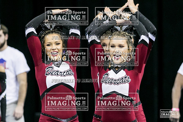 Brookland-Cayce High School State Cheer 2018