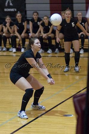 Sherwood Lady Bowmen Volleyball 12 October 2006 Varsity
