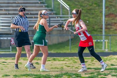 2016-04-14 BHS Women's Lacrosse VS Independence (Senior Night)