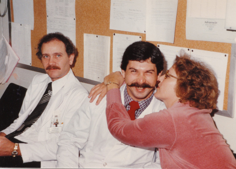 Mary Thanking the Doctors 1982.jpg