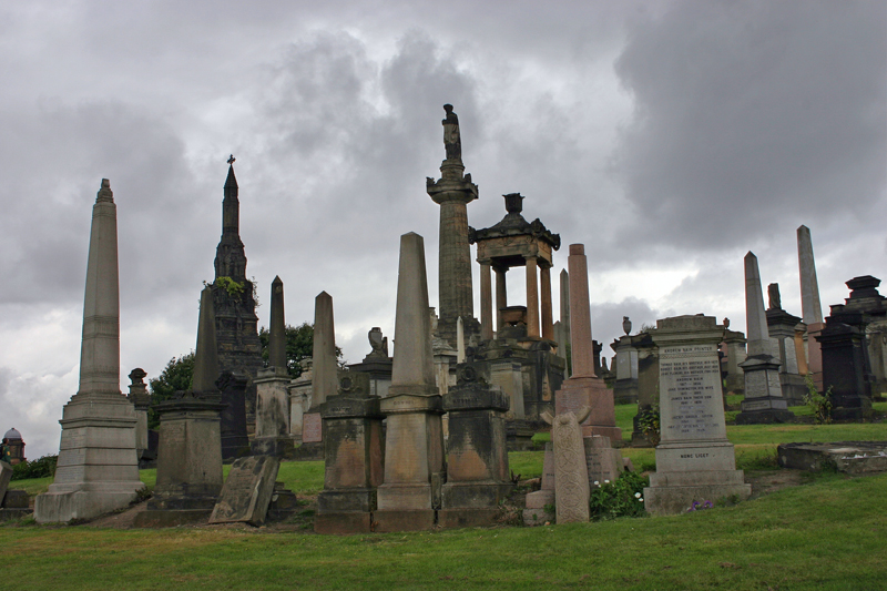 Necropolis at Glasgow Cathedral