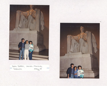 5-15-1988 Don Sloan, Sharon & Anita in DC