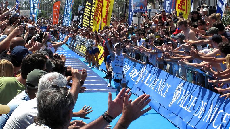Marcel Zamora (Spain) Ironman Nice 2009 winner