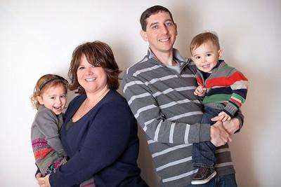 James Family- Winter 2012