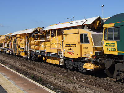 YOA - P & T (NPW-RT) Ballast Distribution Train - Power Wagon