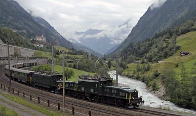 St Gotthard railway north ramp, 2006 2: Wattingen