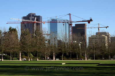 Bellevue, Washington - Downtown Construction Projects