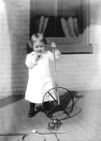 Vintage Rolling Hoop Photos