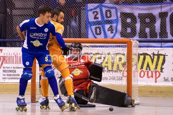 Semifinali: Follonica Hockey vs Admiral Valdagno