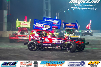 BriSCA F1 Stockcars, Live Action Arena