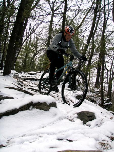 Mike Eatough on Graves Ridge