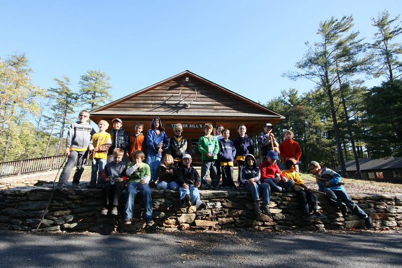 Den 6 and Den 7 Tiger scouts!!
