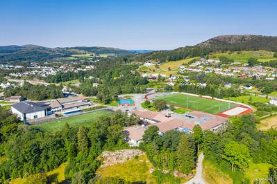 Vindafjord kommune dronebilder