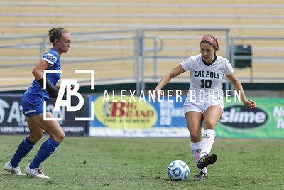 2015 Cal Poly Women's Soccer vs SJSU