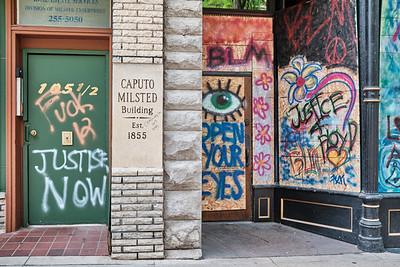 State Street BLM Murals