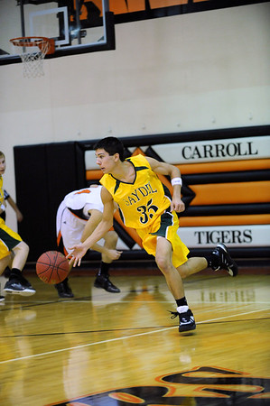 Boys Varsity Basketball @ Carroll 2011-2012
