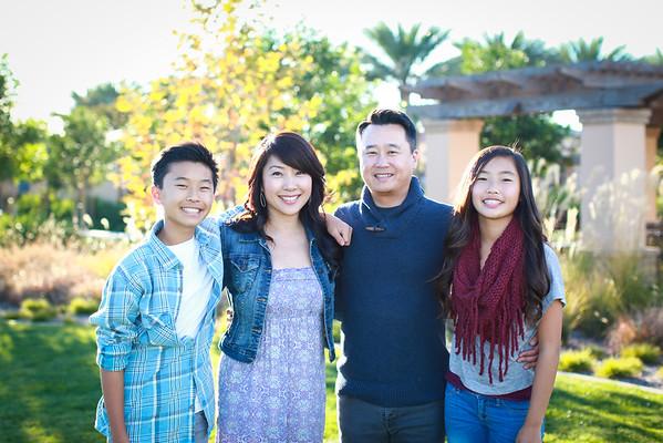Lee Family 2014