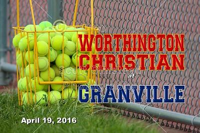 2016 Worthington Christian at Granville (04-19-16)
